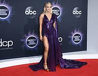 24 November 2019 - Los Angeles, California - Carrie Underwood. 2019 American Music Awards - Arrivals held at Microsoft Theater. Photo Credit: Birdie Thompson/AdMedia