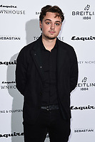 LONDON, UK. October 16, 2019: Dean Charles Chaplin arriving for the Esquire Townhouse 2019 launch party, London.<br /> Picture: Steve Vas/Featureflash