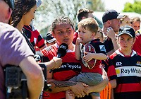 Action from the 2018 Farah Palmer Cup Premiership women's rugby final between Canterbury and Counties Manukau at Rugby Park in Christchurch, New Zealand on Saturday, 20 October 2018. Photo: Joe Johnson / lintottphoto.co.nz