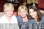GREAT:  Having a great Women's Christmas in The Imperial Hotel on Sunday night were l-r: Mary Higgins, Manor, Patricia Adams, Oakpark and Anne Elvins, Ballyroe.   Copyright Kerry's Eye 2008
