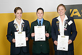 Cycling Girls Finalists. ASB College Sport Young Sportsperson of the Year Awards 2006, held at Eden Park on Thursday 16th of November 2006.<br />