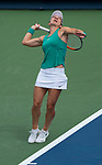 August  16, 2018:  Simona Halep (ROU) defeated Ajla Tomljanovic (AUS) 4-6, 6-3, 6-3 at the Western & Southern Open being played at Lindner Family Tennis Center in Mason, Ohio. ©Leslie Billman/Tennisclix/CSM