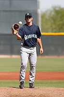 Anthony Vasquez - Seattle Mariners 2009 Instructional League. .Photo by:  Bill Mitchell/Four Seam Images..