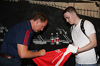 Arsenal legend Ray Parlour meets fans during the Arsenal FC 2019-20 Adidas Home Kit Launch at the Armoury Shop, Emirates Stadium on 1st July 2019