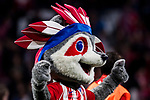 Aletico de Madrid's mascot 'Indi' prior to the La Liga 2017-18 match between Atletico de Madrid and Real Madrid at Wanda Metropolitano  on November 18 2017 in Madrid, Spain. Photo by Diego Gonzalez / Power Sport Images