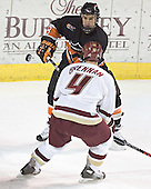 Will Harvey, Mike Brennan - Boston College defeated Princeton University 5-1 on Saturday, December 31, 2005 at Magness Arena in Denver, Colorado to win the Denver Cup.  It was the first meeting between the two teams since the Hockey East conference began play.