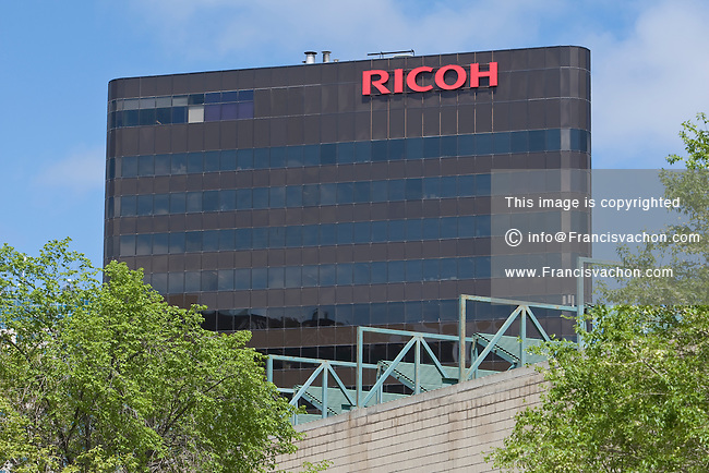 Ricoh Canada office is pictured in Winnipeg Tuesday May 24, 2011.. Ricoh Company, Ltd. is a Japanese company that produces electronic products, primarily cameras and office equipment such as printers, photocopiers, fax machines, and offers Software as a Service (SaaS) document management solutions such as DocumentMall.