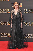 Rosalie Craig at the Olivier Awards 2019, Royal Albert Hall, Kensington Gore, London, England, UK, on Sunday 07th April 2019.<br /> CAP/CAN<br /> ©CAN/Capital Pictures