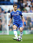 Chelsea's Cesar Azpilicueta in action during the Premier League match at the Stamford Bridge Stadium, London. Picture date: April 1st, 2017. Pic credit should read: David Klein/Sportimage via PA Images