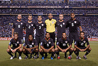 US Men's National Team Starting Eleven. US Men's National Team vs Honduras at Estadio Olimpico in San Pedro Sula, Honduras.