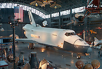 Space Shuttle Enterprise at the National Air and Space Museum, Steven F. Udvar-Hazy Center