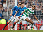 Scott Sinclair shadowed by Jason Holt and Andy Halliday