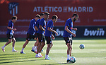 Atletico de Madrid's players during training session. May 30,2020.(ALTERPHOTOS/Atletico de Madrid/Pool)