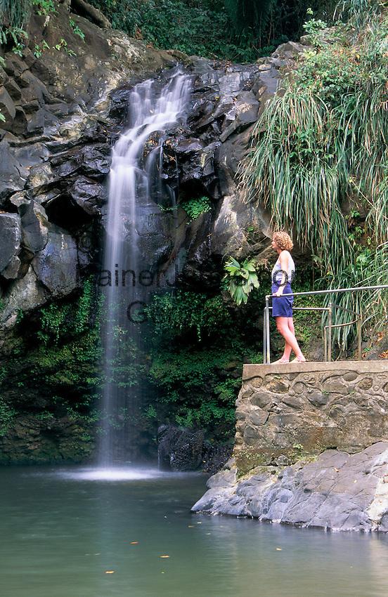 Karibik, Kleine Antillen, Grenada: Annadale Wasserfall   Caribbean, Lesser Antilles, Grenada: Annadale Waterfalls
