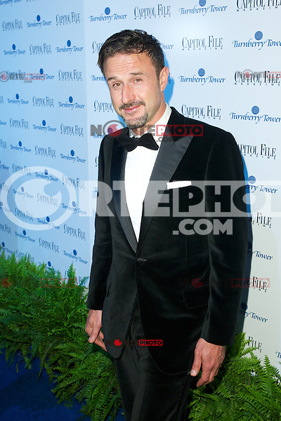 WASHINGTON, DC - APRIL 28: David Arquette  attends Capital File magazine's WHCAD After - Party hosted by Claire Danes at The Newseum in Washington, D.C  on April 28th, 2012  ( Photo by Chaz Niell/Media Punch Inc.)