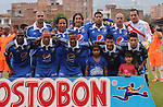 ENVIGADO – COLOMBIA _ 25-01-2014 / En compromiso correspondiente a la primera jornada del Torneo Apertura Colombiano 2014, Envigado FC cayó derrotado 1 – 2 ante Millonarios en el estadio Polideportivo Sur de Envigado. / Nómina inicial de Millonarios.