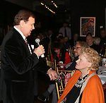 Lee Roy Reams and Tammy Grimes attends the '12th Annual Love N' Courage' celebrating David Amram and Tammy Grimes at The National Arts Club on March 2,, 2015 in New York City.
