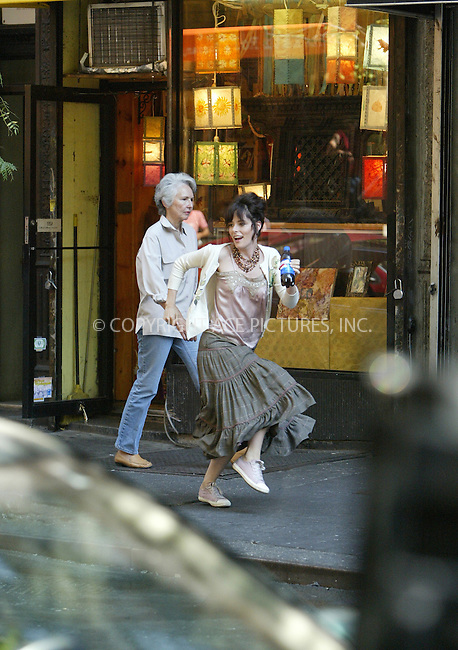 WWW.ACEPIXS.COM . . . . .  ....NEW YORK, SEPTEMBER 12, 2005....Parker Posey on the set of a new Pepsi commercial filming in the West Village.....Please byline: JENNIFER L GONZELES-ACE PICTURES.... *** ***..Ace Pictures, Inc:  ..Craig Ashby (212) 243-8787..e-mail: picturedesk@acepixs.com..web: http://www.acepixs.com