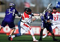 UHart Lacrosse vs. Holy Cross 3/29/2016