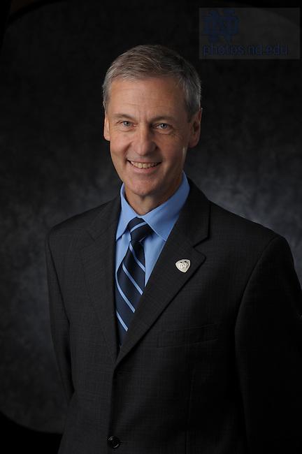 University officers: Executive Vice President John Affleck-Graves.Photo by Matt Cashore/University of Notre Dame