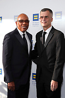 LOS ANGELES - MAR 30:  Paris Barclay, Christopher Mason at the Human Rights Campaign 2019 Los Angeles Dinner  at the JW Marriott Los Angeles at L.A. LIVE on March 30, 2019 in Los Angeles, CA