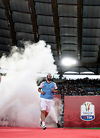 Calcio, Tim Cup: finale Juventus vs Lazio. Roma, stadio Olimpico, 17 maggio 2017.<br /> Juventus' Gonzalo Higuain enters the pitch to warm up prior to the start of the Italian Cup football final match between Juventus and Lazio at Rome's Olympic stadium, 17 May 2017.<br /> UPDATE IMAGES PRESS/Isabella Bonotto