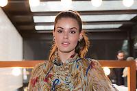 SAO PAULO, SP, 14.06.2018 - EVENTO SP-<br /> A atriz Camila Queiroz durante brunch de lançamento da revista Vogue Noivas, no Chez Oscar, na Rua Oscar Freire, em São Paulo, na manhã desta quinta-feira,14. (Foto: Ciça Neder / Brazil Photo Press).