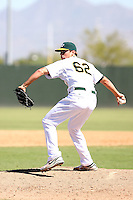 Seth Frankoff - Oakland Athletics - 2010 Instructional League.Photo by:  Bill Mitchell/Four Seam Images..