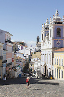 SALVADOR, BA, 23.03.2013 - PELOURINHO-BA - Imagem de arquivo da Igreja Rosário dos Prestos no Pelourinho, Centro Histórico de Salvador - BA. (Foto: Joá Souza / Brazil Photo Press).