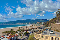 California Incline in Santa Monica, Landmark,Santa Monica Incline, Southern California,