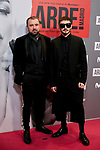 Felix Sabroso and Jau Fornes attends to ARDE Madrid premiere at Callao City Lights cinema in Madrid, Spain. November 07, 2018. (ALTERPHOTOS/A. Perez Meca)