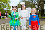 Enjoying the Fancy Dress fun Run in the park on Saturday were Hannah Walsh, Emily Rose McSweeney and Olivia Leen