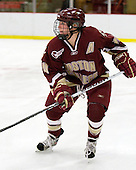 Katelyn Kurth (BC - 14) - The Harvard University Crimson defeated the Boston College Eagles 5-0 in their Beanpot semi-final game on Tuesday, February 2, 2010 at the Bright Hockey Center in Cambridge, Massachusetts.