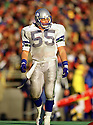 Seattle Seahawks Brian Bosworth (55) during a game from his 1987 season with the Seattle Seahawks. Brian Bosworth played for 3 years all with the Seattle Seahawks.(SportPics)