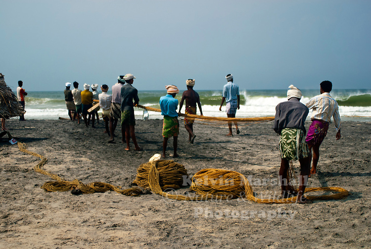 The main living in Kerala is fishing and the fishermen communities spread along the beautiful beaches of Kerala.