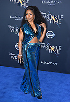Angela Bassett at the premiere for &quot;A Wrinkle in Time&quot; at the El Capitan Theatre, Los Angeles, USA 26 Feb. 2018<br /> Picture: Paul Smith/Featureflash/SilverHub 0208 004 5359 sales@silverhubmedia.com