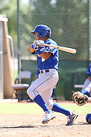 Yowill Espinal - Kansas City Royals - 2010 Instructional League.Photo by:  Bill Mitchell/Four Seam Images..