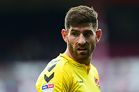 Fleetwood Town's Ched Evans looks on<br /> <br /> Photographer Richard Martin-Roberts/CameraSport<br /> <br /> The EFL Sky Bet League One - Barnsley v Fleetwood Town - Saturday 13th April 2019 - Oakwell - Barnsley<br /> <br /> World Copyright &not;&copy; 2019 CameraSport. All rights reserved. 43 Linden Ave. Countesthorpe. Leicester. England. LE8 5PG - Tel: +44 (0) 116 277 4147 - admin@camerasport.com - www.camerasport.com