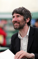 Monday 26 May 2014, Hay on Wye, UK<br /> Pictured: Gruff Rhys of the Super Furry Animals<br /> Re: The Hay Festival, Hay on Wye, Powys, Wales UK.