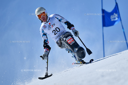 Roman Rabl (AUT), <br /> MARCH 5, 2017 - Alpine Skiing :<br /> IPC Alpine World Cup Hakuba,<br /> Men's Giant Slalom <br /> Sitting LW12-1 <br /> at Hakuba Happo One, Nagano Japan.<br /> (Photo by AFLO SPORT)
