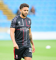 Lincoln City's Bruno Andrade during the pre-match warm-up<br /> <br /> Photographer Andrew Vaughan/CameraSport<br /> <br /> The EFL Sky Bet League One - Wycombe Wanderers v Lincoln City - Saturday 7th September 2019 - Adams Park - Wycombe<br /> <br /> World Copyright © 2019 CameraSport. All rights reserved. 43 Linden Ave. Countesthorpe. Leicester. England. LE8 5PG - Tel: +44 (0) 116 277 4147 - admin@camerasport.com - www.camerasport.com