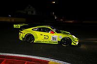 #911 MANTHEY RACING (DEU) PORSCHE 911 GT3 R PRO CUP ROMAIN DUMAS (FRA) FREDERIC MAKOWIECKI (FRA) DIRK WERNER (DEU)