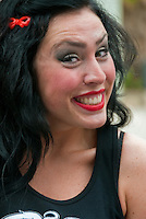 LA Pride 2011 Female, Roller Derby, Skater, Participant