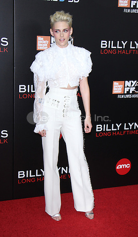 NEW YORK, NY-October 14:Kristen Stewart at NYFF54 Special Wortldf Premiere Presentation Billy Lynn's Halftime Walk at AMC Lincoln Square in New York.October 14 , 2016. Credit:RW/MediaPunch