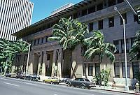Honolulu: Alexander & Baldwin Building, C.W. Dickey & Hart Wood, 1929. PHoto '82.
