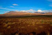 Mount Tongariro (left) & Mount Ngauruhoe (right), Tongariro National Park, Central North Island, New Zealand