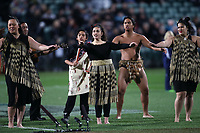 Pre-match entertainment for the Rugby Championship match between the New Zealand All Blacks and South Africa Springboks at QBE Stadium in Albany, Auckland, New Zealand on Saturday, 16 September 2017. Photo: Shane Wenzlick / lintottphoto.co.nz
