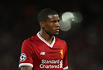 Georginio Wijnaldum of Liverpool during the Champions League playoff round at the Anfield Stadium, Liverpool. Picture date 23rd August 2017. Picture credit should read: Lynne Cameron/Sportimage