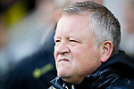Sheffield United manager Chris Wilder during the Premier League match at Carrow Road, Norwich. Picture date: 8th December 2019. Picture credit should read: James Wilson/Sportimage
