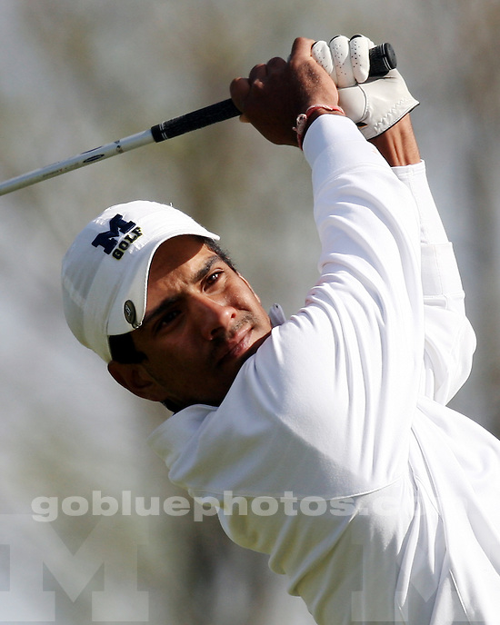 University of Michigan men's golf team competes in 2010 Big Ten Golf Championship at Windsong Farm Golf Club, near Minneapolis, MN, Saturday, May 1.